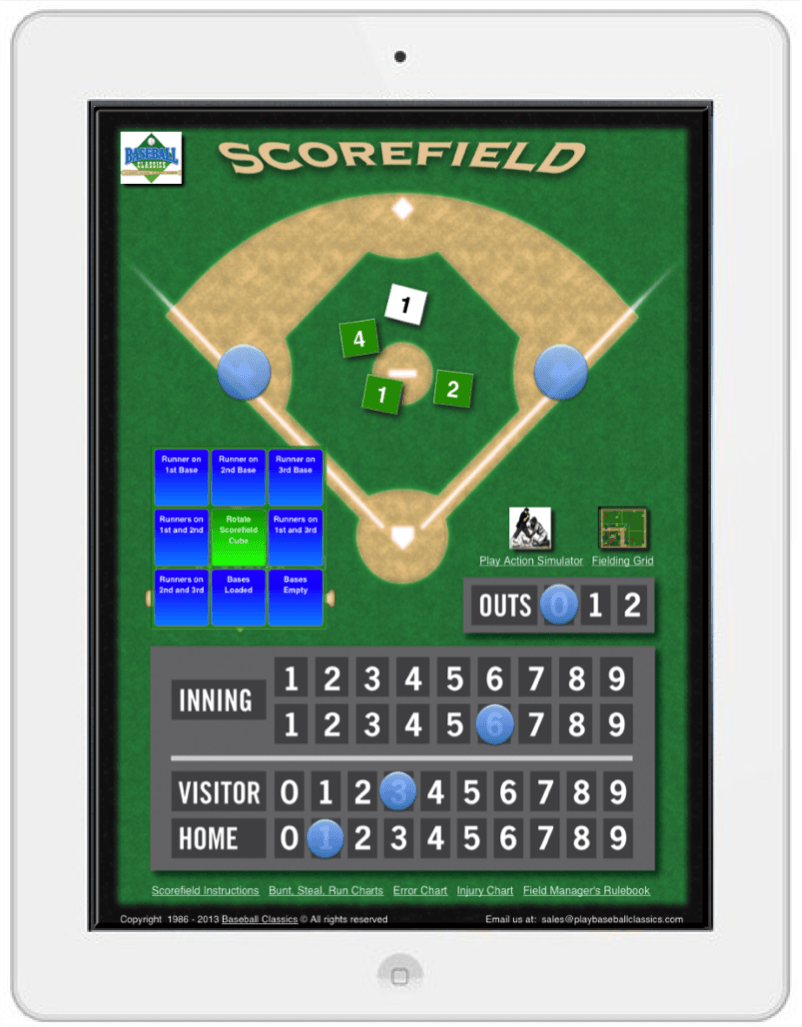 Baseball Classics Baseball Game for mobile play
