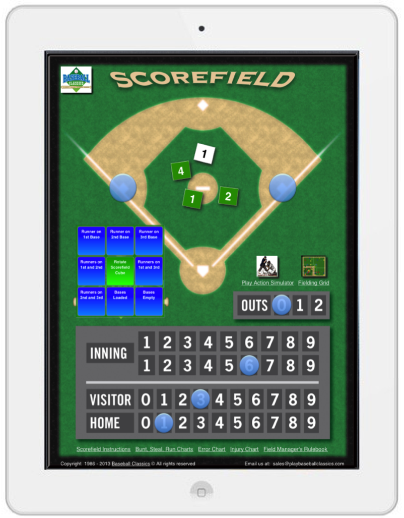 Playing Baseball Classics on your iPad
