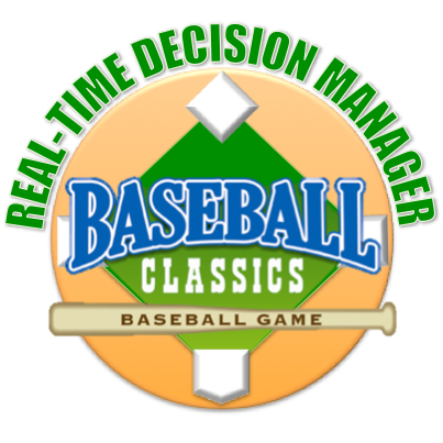 Baseball Strategy: Managing Against Real-Time Decision Manager